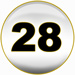 Powerball third winning number is  28