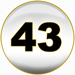 Powerball fourth winning number is 43